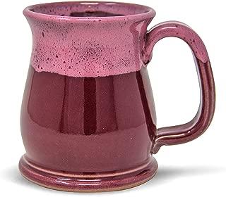 product image for Handmade Stoneware Coffee Mug Razzmatazz 16oz