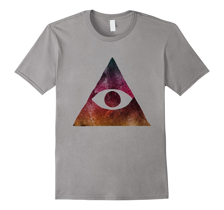 All Seeing Eye Pyramid Illuminati Symbol T Shirt Th Teehelen
