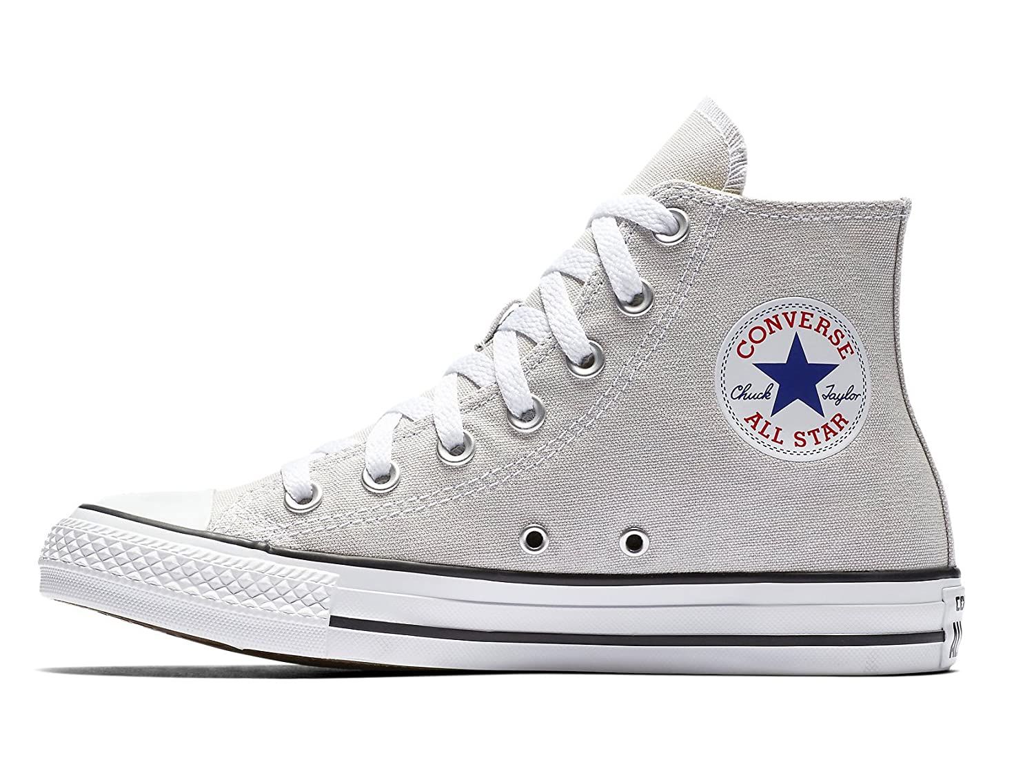 Converse Unisex Chuck Taylor All-Star High-Top Casual Sneakers in Classic Style and Color and Durable Canvas Uppers B01NAKZJTM 42 M EU / 10.5 B(M) US Women / 8.5 D(M) US Men|Pale Putty