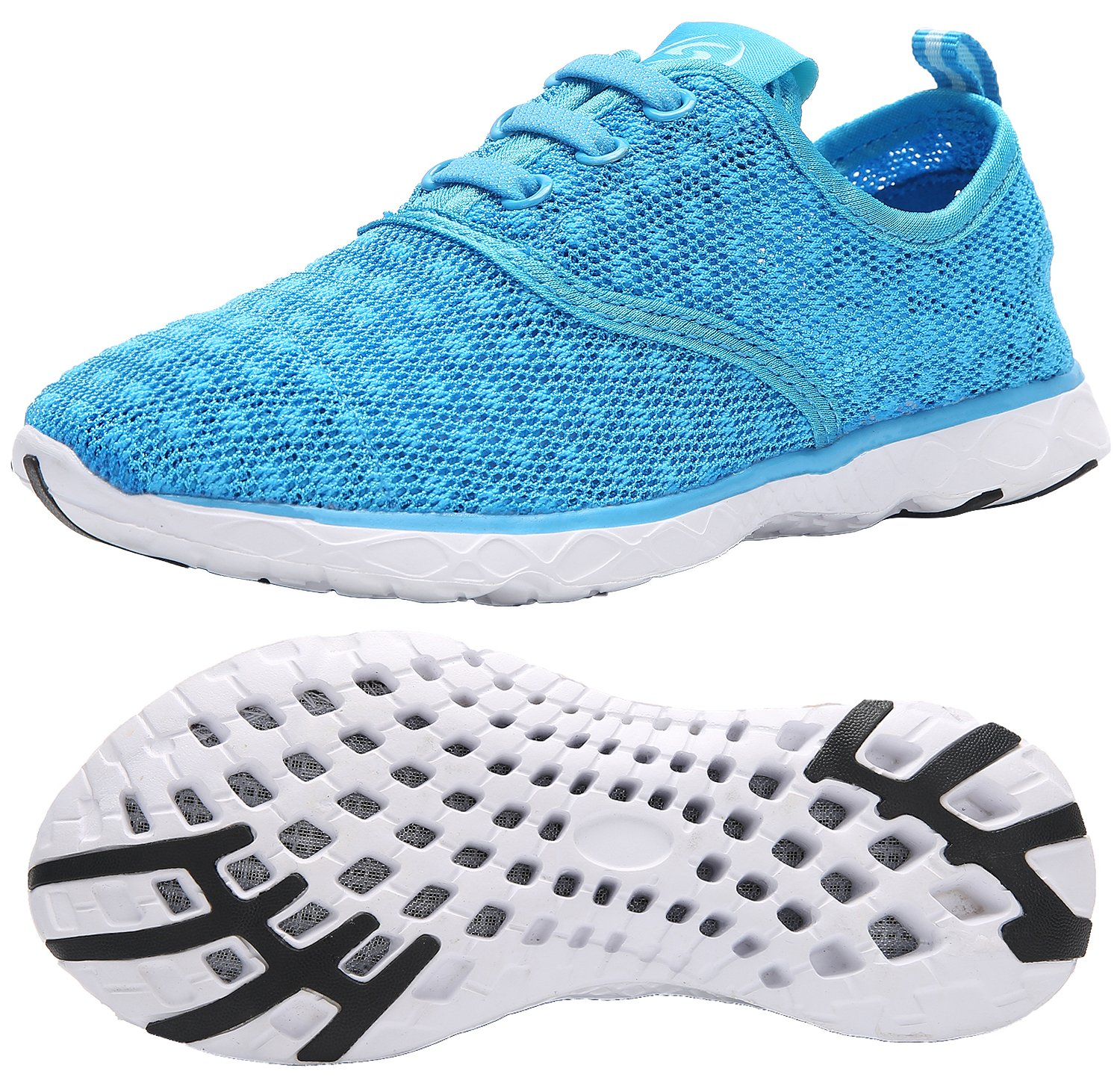 KARIDO Kid's Slip-on Quick Drying Aqua Water Shoes Athletic Sneakers