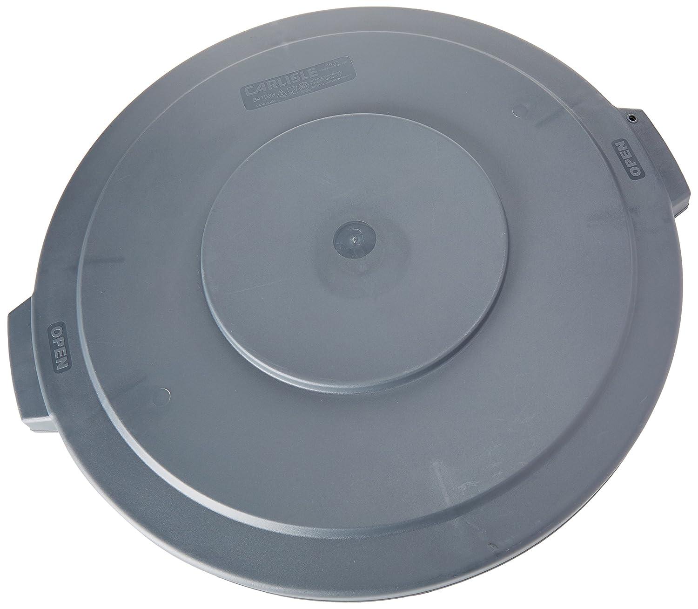 Carlisle 34103323 Bronco Polyethylene Round Lid, 24