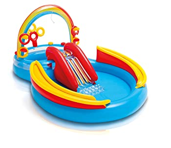 Intex Rainbow Ring Kiddie Pool