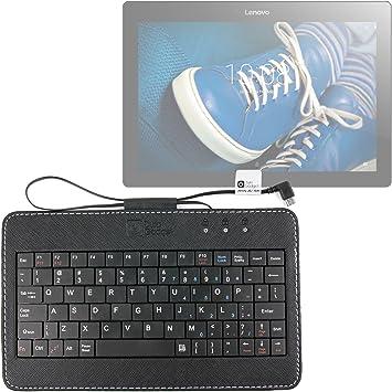 DURAGADGET Mini Funda/Teclado Portátil INGLÉS para Tablet ...