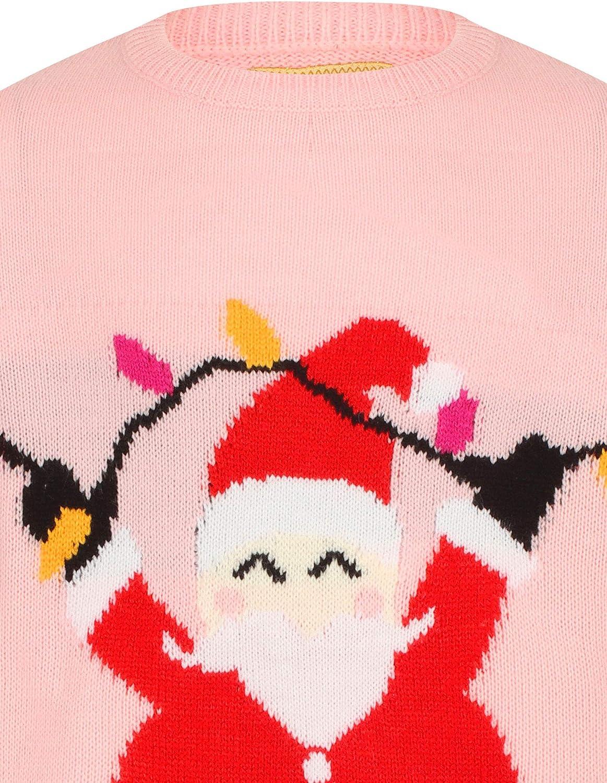 Tokyo Laundry Weihnachtspullover f/ür M/ädchen mit Aufschrift Merry Christmas