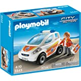 Playmobil Guardacostas - Vehículo de emergencia, playset (5543)