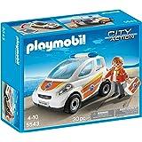 Playmobil Guardacostas - Vehículo de emergencia, playset (5543)