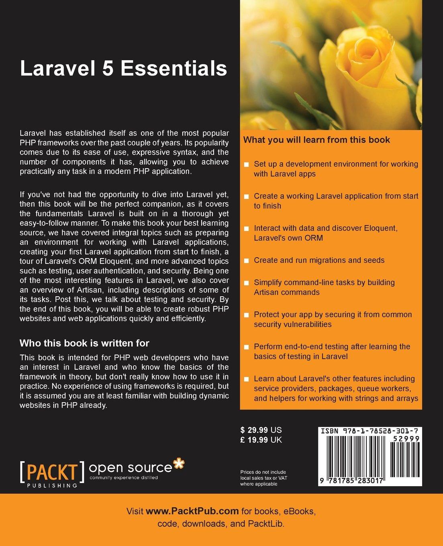 Book essentials laravel 5