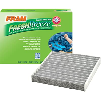 FRAM CF10285 Fresh Breeze Cabin Air Filter with Arm & Hammer: Automotive