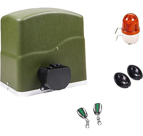 Dieffematic Nice RB600KCE - Kit de automatización para puertas correderas (600 kg): Amazon.es: Hogar