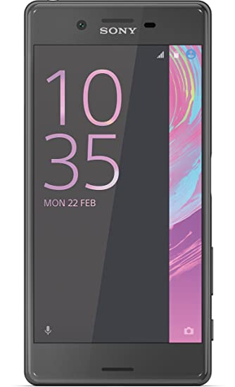 Sony Xperia X Smartphone (5 Zoll (12,7 cm) Touch-Display, 32GB interner Speicher, Android 6.0) schwarz