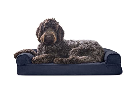 Phenomenal Furhaven Pet Dog Bed Sofa Style Couch Pet Bed For Dogs Cats Available In Multiple Colors Styles Bralicious Painted Fabric Chair Ideas Braliciousco