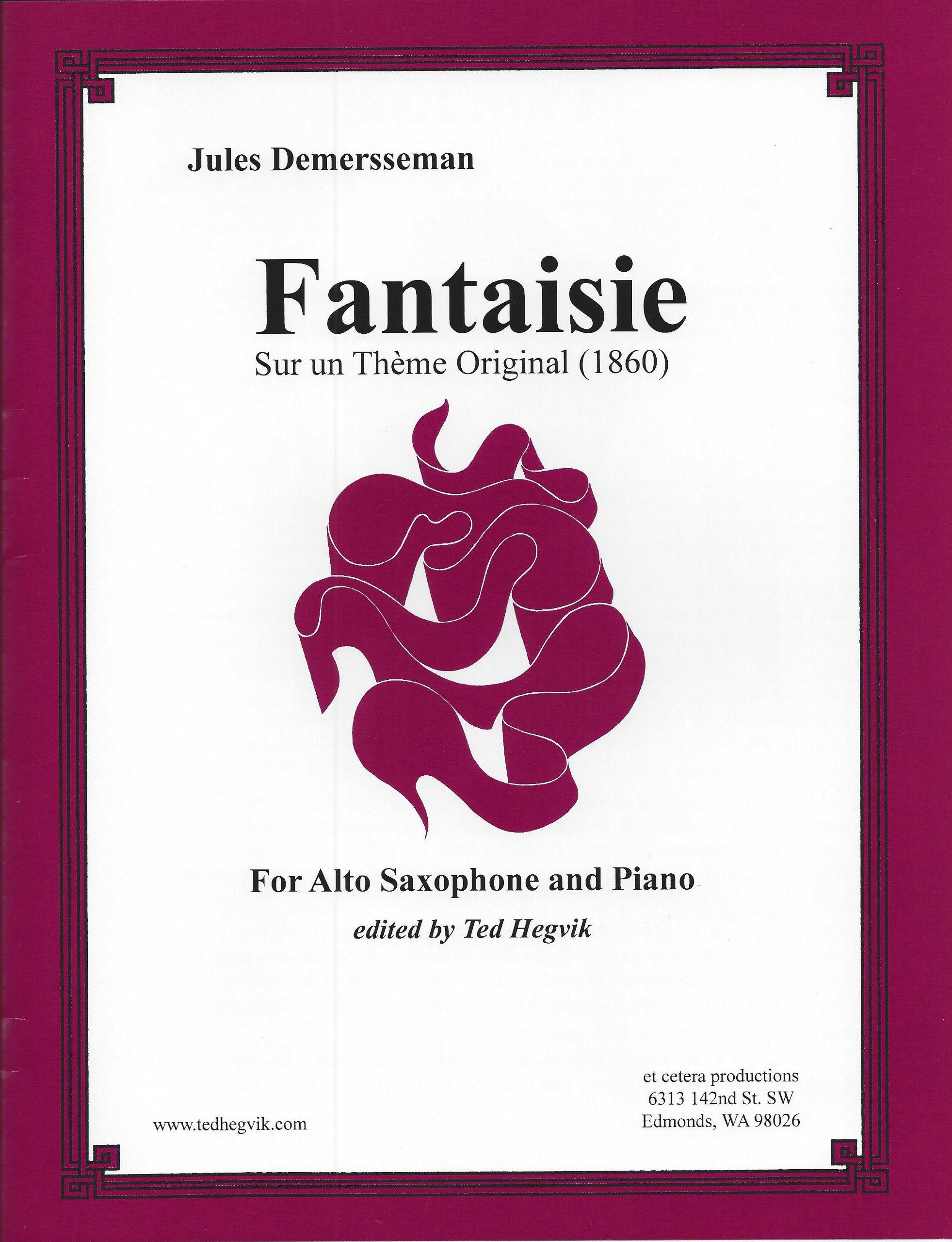 Amazon Com Jules Demersseman Fantaisie Sur Un Theme Original 1860
