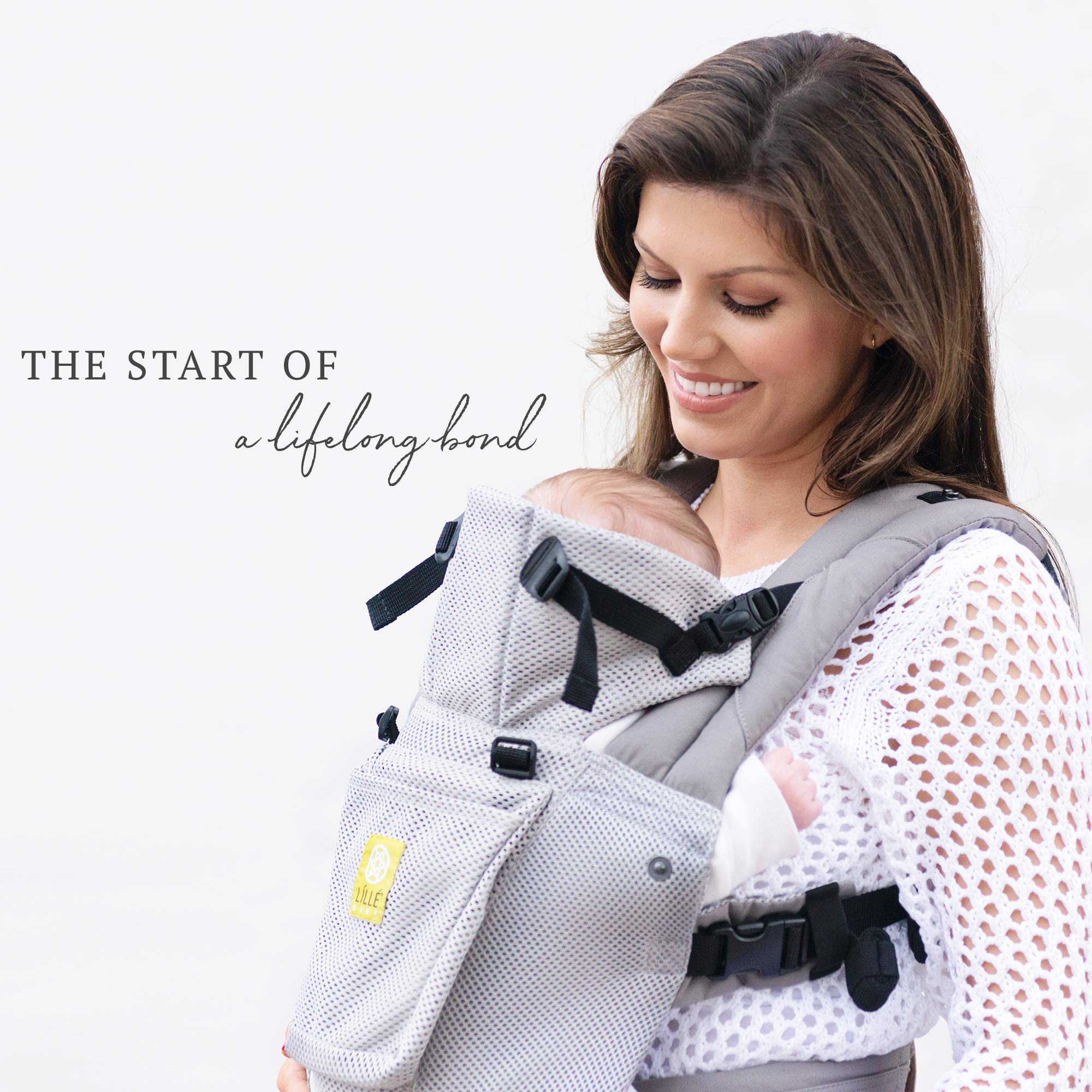 Lillebaby The Complete Airflow 360° Ergonomic Six-Position Baby & Child Carrier, Silver by LILLEbaby (Image #5)