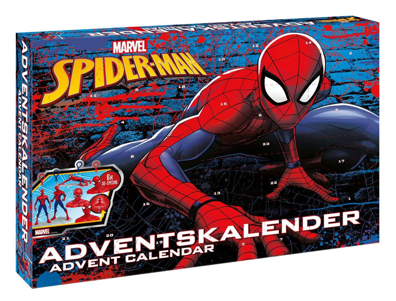 Craze 57484 - Adventskalender Marvel Spider-Man Craze_57484