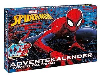 Calendrier De L Avent Spiderman.Disney Spiderman Calendrier De L Avent 57484
