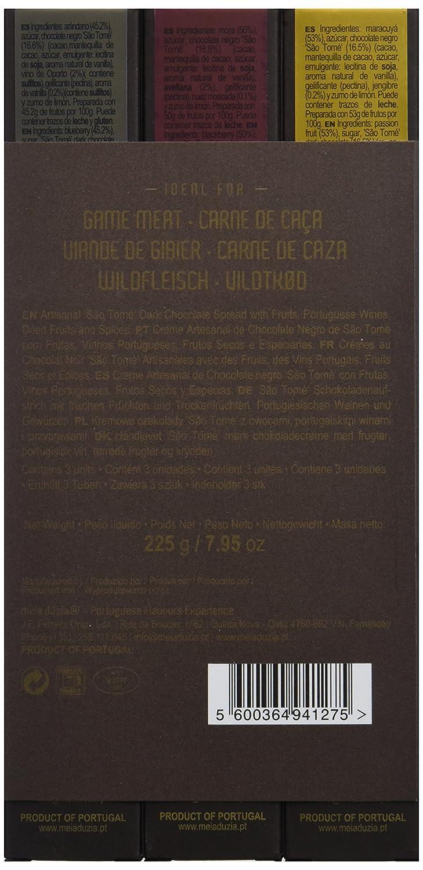 Meia Duzia Chocolate Con Frutas - Paquete de 3 x 75 gr - Total: 225 gr: Amazon.es: Alimentación y bebidas