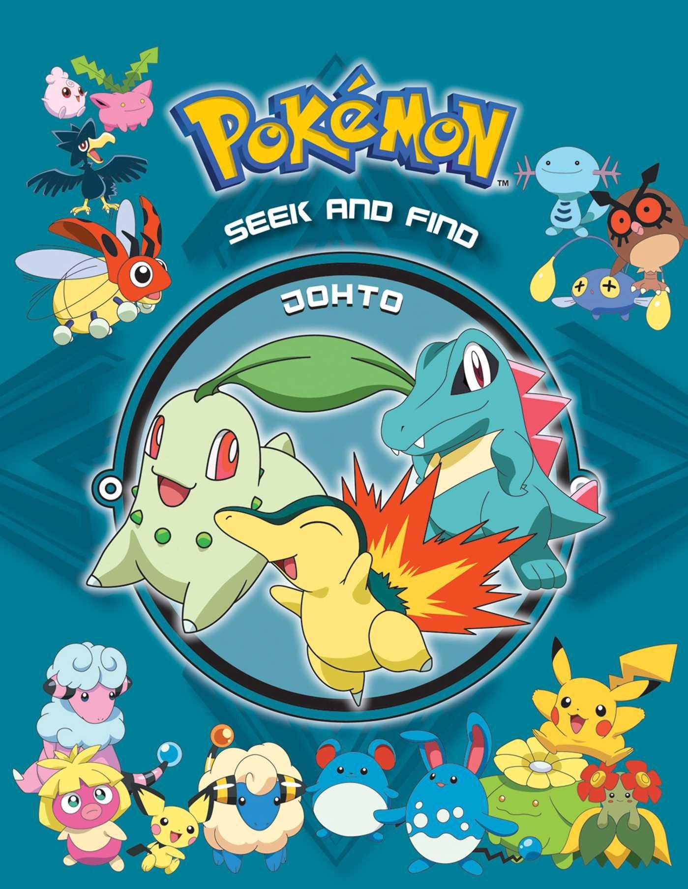 Pokémon Seek and Find - Johto (Pokemon)