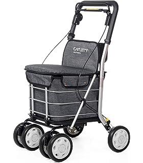 Carlett Carro DE LA Compra Lett 800 Grey Textured Asiento, Aluminio, Gris, 92