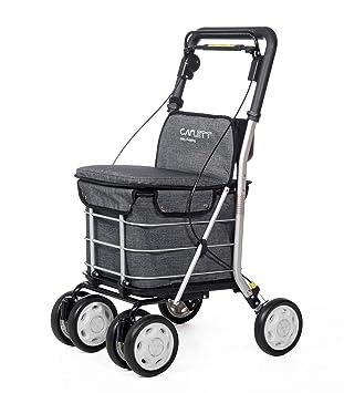 Carlett Carro DE LA Compra Lett 800 Grey Textured Asiento, Aluminio, Gris, 92: Amazon.es: Hogar