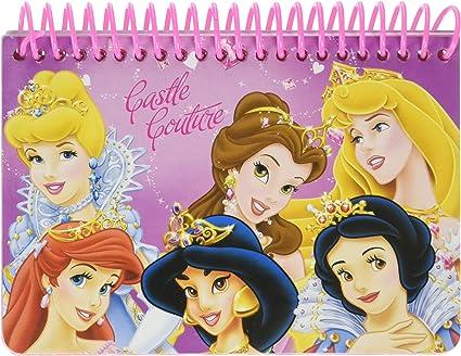 Amazon.com: Princesas Disney de 2 piezas. Juego de libro de ...