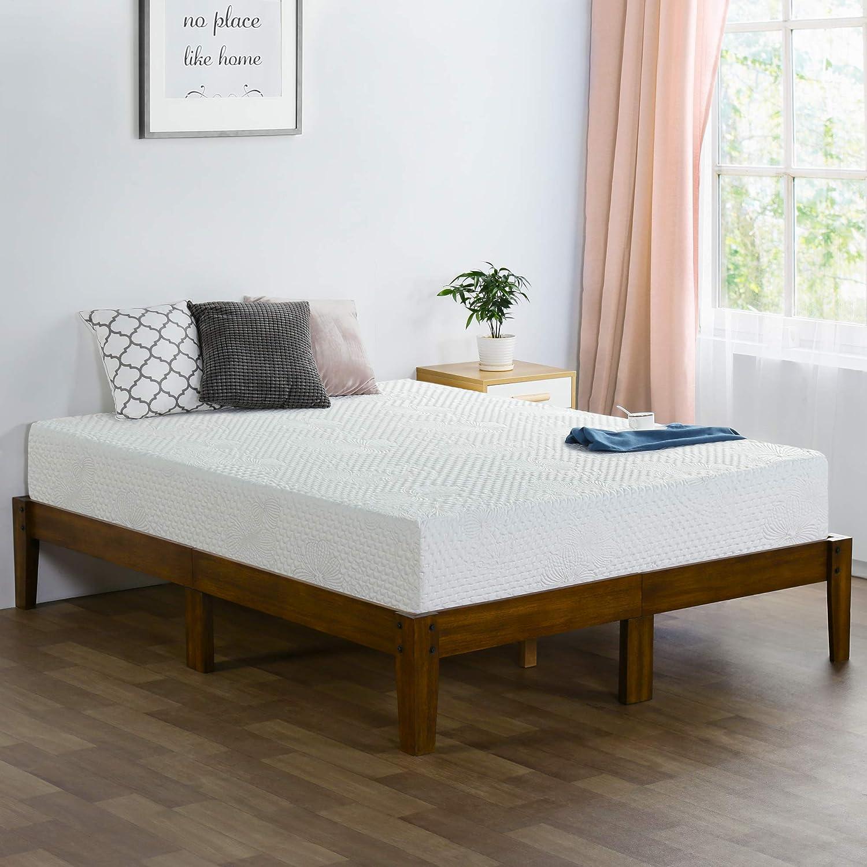Olee Sleep 8 Inch Ventilated Convolution Memory Foam Mattress myusamart