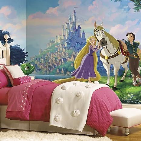 Amazon.com: RoomMates jl1378 m Princesas Disney Tangled XL ...