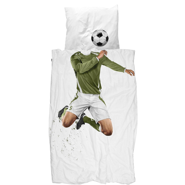 Snurk Soccer Champ Twin Duvet Cover and Kissencase