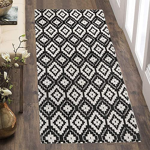 Sungea Moroccan Geometric Diamond Trellis Area Rug