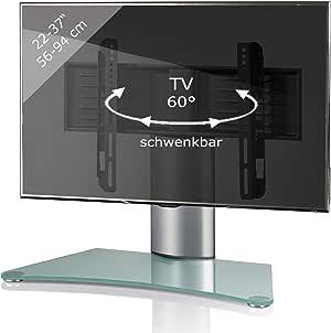 VCM Windoxa-Soporte de Mesa para TV, Cristal Opaco: Amazon.es: Hogar