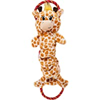 Charming Pet Crunch 'N Scrunch, Ropes-A-Go-Go, and Scrunch Bunch - Squeaky, Plush Dog Toys with Rope for Ultimate Tugging Fun