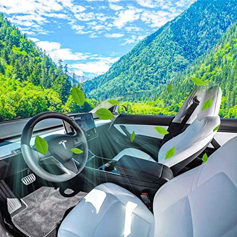 Fanuse Luft Einlass Filter Kabinen Luft Einlass Mit Aktiv Kohle Klimaanlage Luft Einlass Abdeckung Für Tesla Model 3 2017 2019 Auto