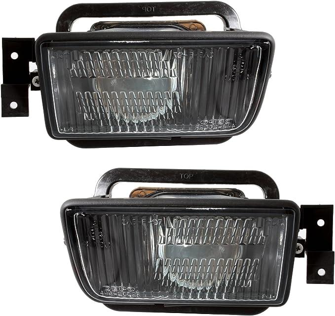 Ad Tuning Depo Nebelscheinwerfer Set In Klarglas Schwarz Projektor Linse Auto