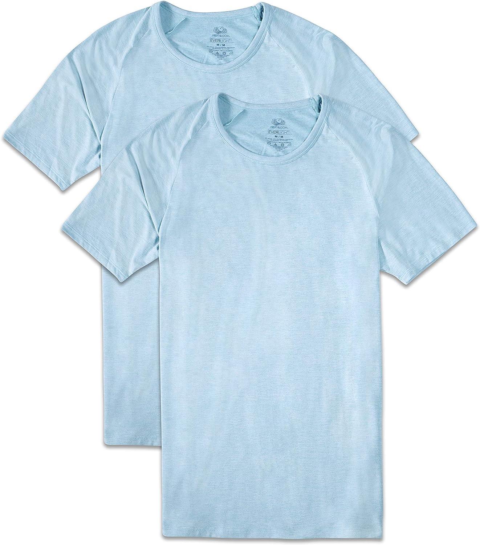 Fruit of the Loom Mens Everlight Modal Raglan Crew T-Shirt