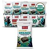 Organic DAECHUN(Choi's1) Seaweed Snacks, 20 Pack, Original, Product of Korea