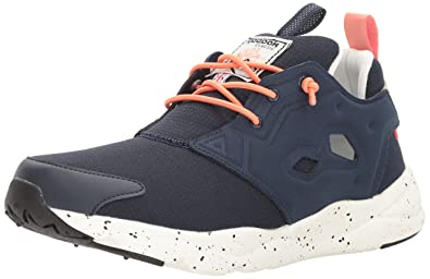 Reebok Women s Furylite Out-Color Running Shoe Faux Indigo Stellar  Pink Oatmeal  aa55a2fcb