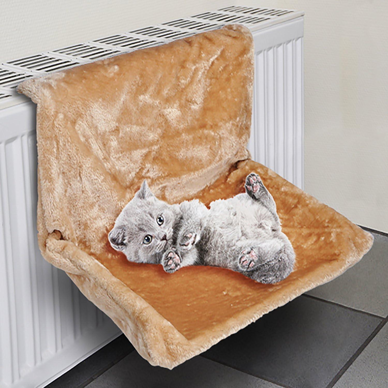 Calefacción Tumbona Hamaca gato Radiador gato Tumbona (hueco Beige T31 X 46 X h24,5 cm Lavado Bar: Amazon.es: Productos para mascotas