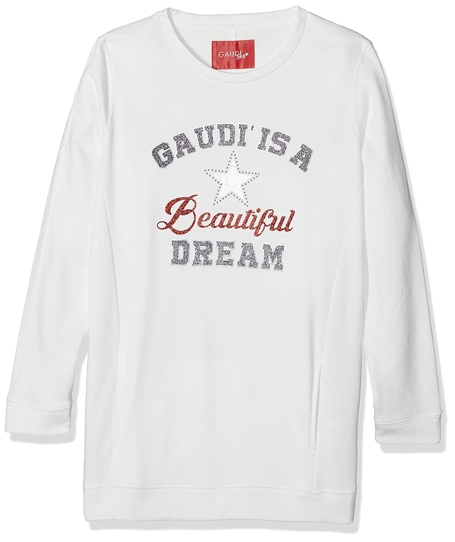 GAUDÌ Mädchen Kapuzenpullover Maxi Felpa Gaudì