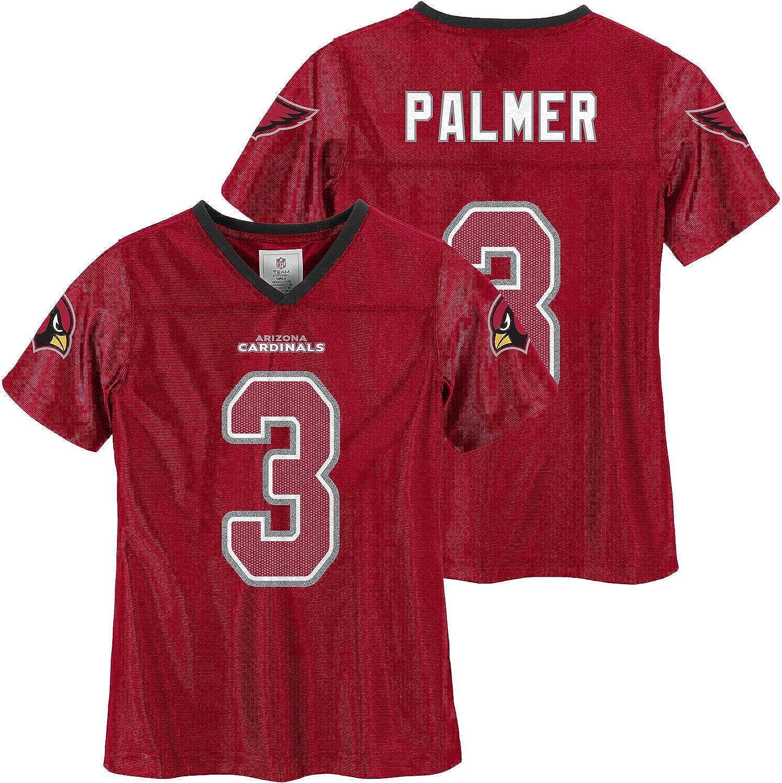 Amazon.com: Carson Palmer Arizona Cardinals #3 Girls Red Youth ...