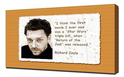 Amazon com: Richard Coyle Quotes 1 - Canvas Art Print: Posters & Prints