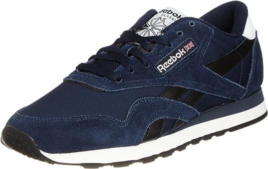Reebok Classic Nylon bleu marine Chaussures Baskets homme