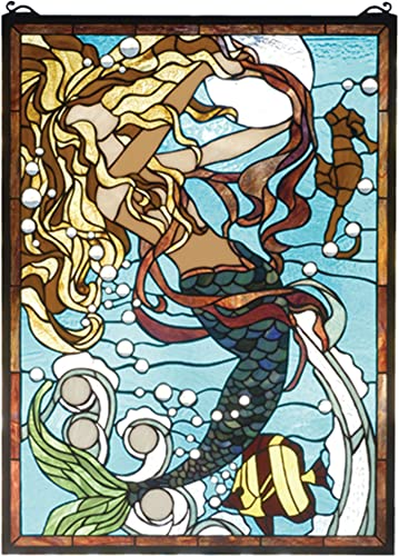 19 Inch W X 26 Inch H Mermaid Of The Sea Window Windows