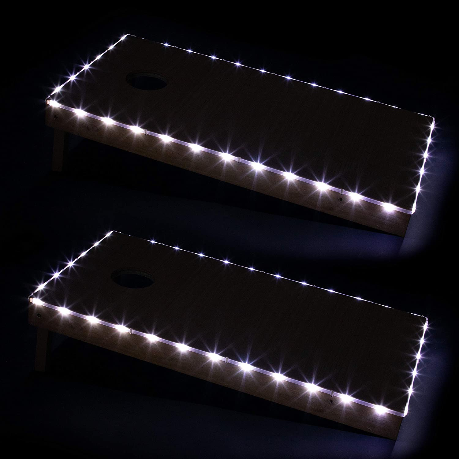 LED Cornhole Board Lights - Multiple Colors to Choose from - Corn Hole Edge Lighting Kit for Playing at Night