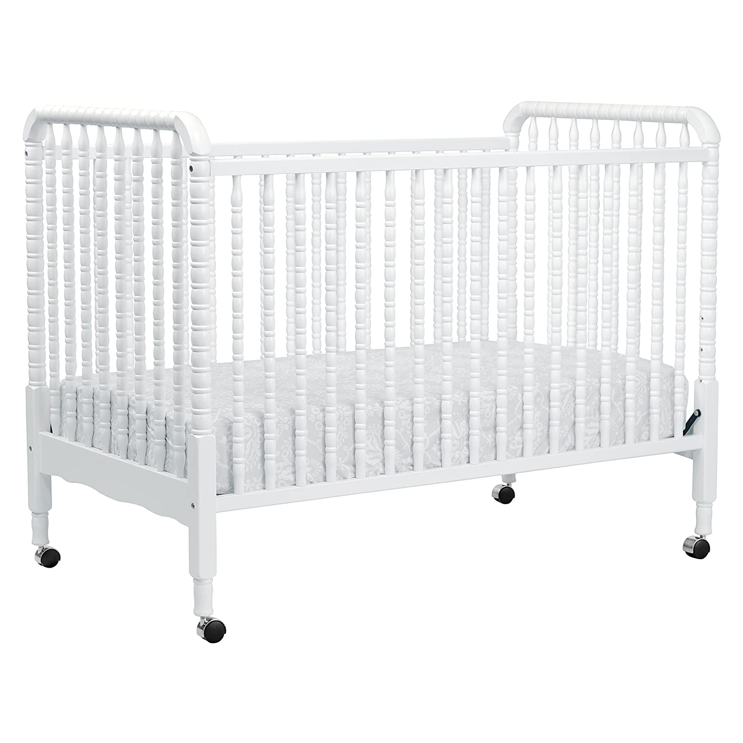 Contemporary white wooden jenny lind crib for your baby to sleep - Contemporary White Wooden Jenny Lind Crib For Your Baby To Sleep 43