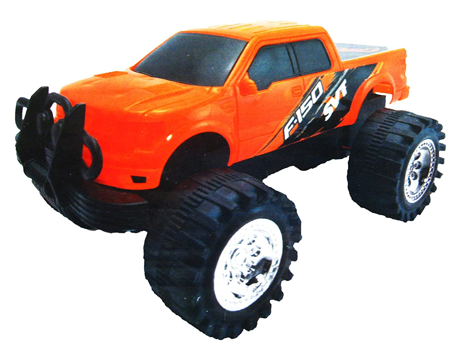 P and C Off Road Truck Friction Powered F 150 SVT RAPTOR Set of Two
