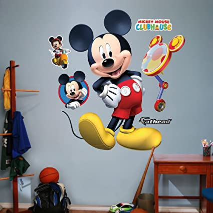 Amazon.com: FATHEAD Mickey Mouse Clubhouse Graphic Wall Décor: Home ...