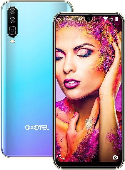 GOODTEL Smartphone Libres Android 8.1 Pantalla 6.3 Incell Face ...