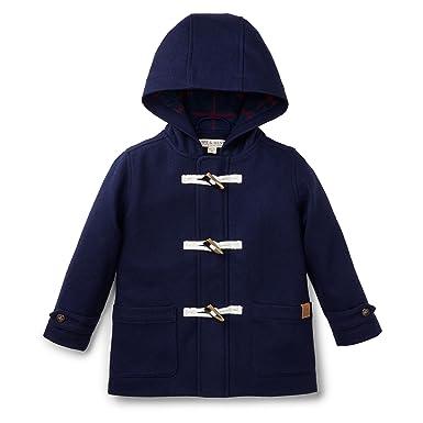 Amazon.com: Hope & Henry Boys' Navy Wool Blend Duffle Coat: Clothing