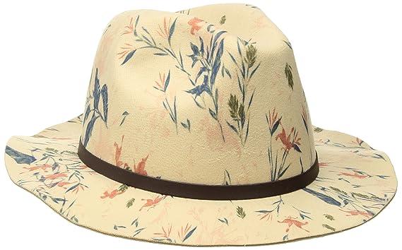 Roxy Women s Tiny Garden Fedora Hat 293d58419ce