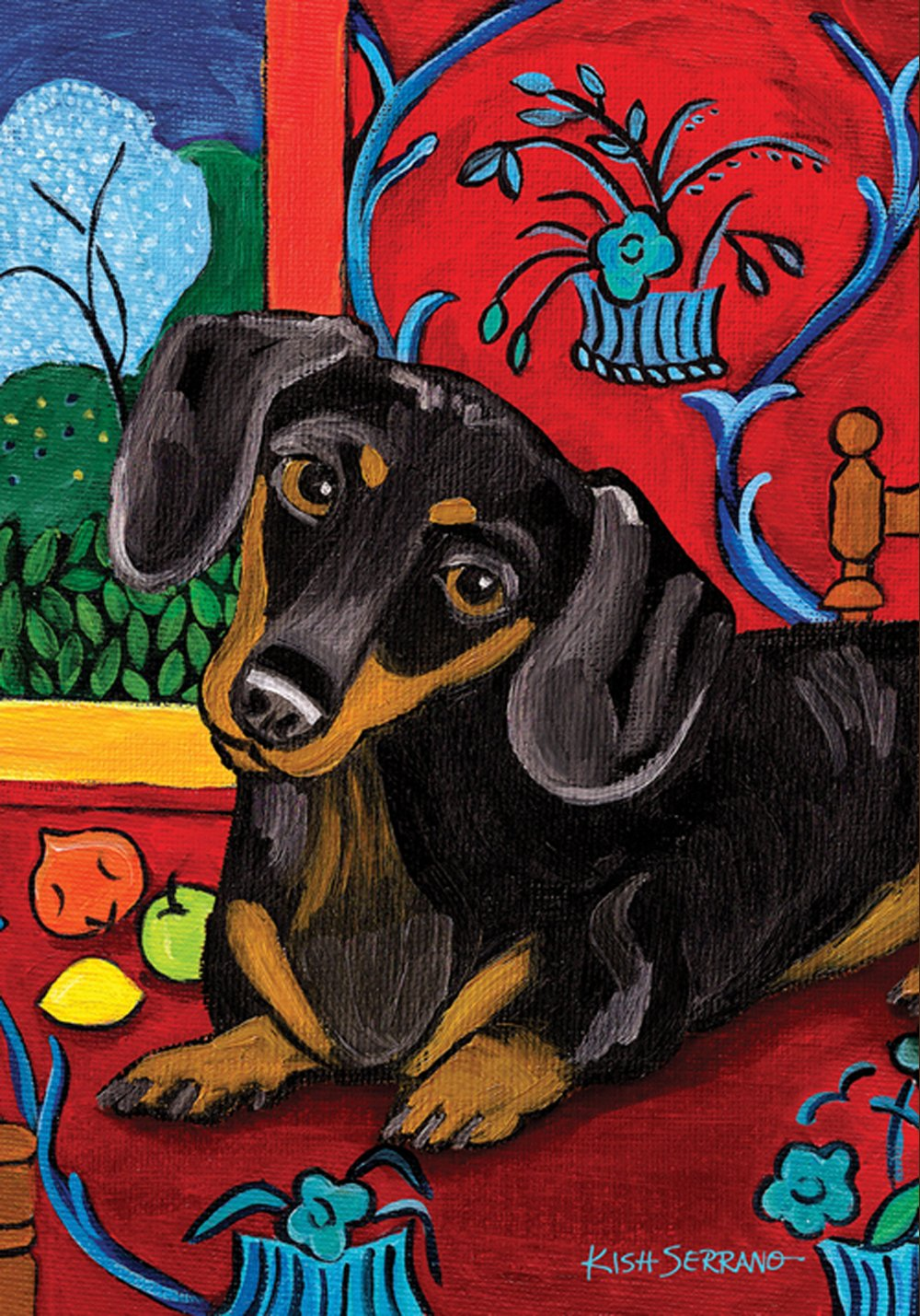 Amazon.com : Toland Home Garden Muttisse Dachshund 12.5 X 18 Inch  Decorative USA Produced Garden Flag : Outdoor Decorative Flags : Patio,  Lawn U0026 Garden