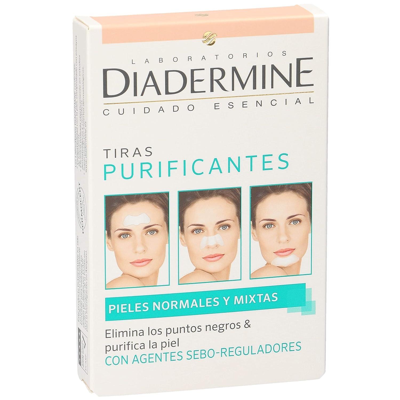 diadermine Bandes purifiants, Peaux normales et mixtes, 6unités de 8410436311182